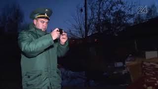 В Казани на ул. Карбышева образовалась свалка после расселения аварийных домов