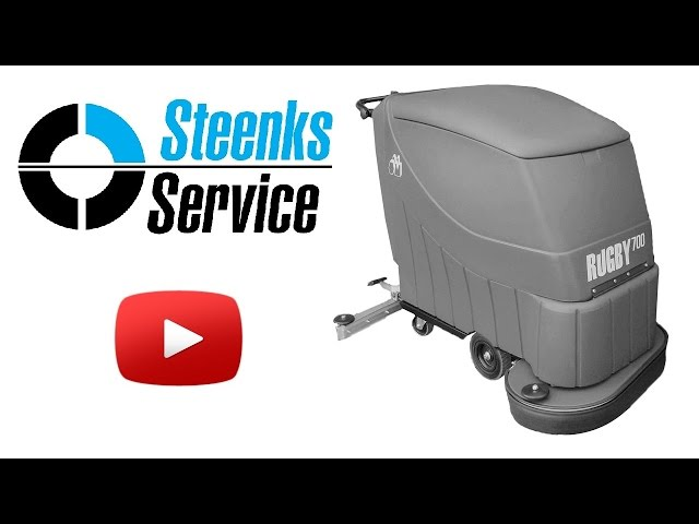 YouTube video | Floor scrubber Stefix 700B