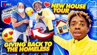 I FINALLY GOT MY OWN HOUSE & I HELPED A HOMELESS❤️