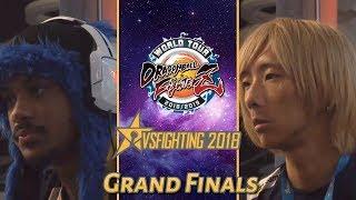 DBFZ World Tour: VsFighting 2018 SonicFox Vs Dogura (Grand Finals)