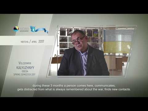 Video feedback of Volodymyr Kalyuzhnyy, graduate of the Ukraine-Norway project