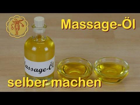 Massage-Öl selber machen