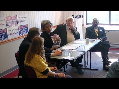 Social Security Roundtable with Congresswoman Beatty of Ohio