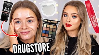 WHATS NEW AT THE DRUGSTORE? FULL FACE TESTING MAKEUP!!