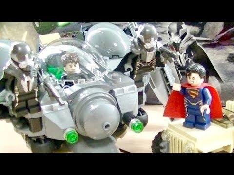 Vidéo LEGO DC Comics Super Heroes 76003 : Superman : la bataille de Smallville