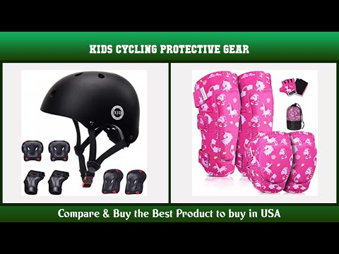 Top 10 Kids Cycling Protective Gear to buy in USA 2021 | Price & Review