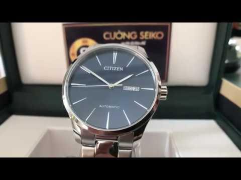 Chi tiết về ngoại hình đồng hồ Citizen nh8350-83l