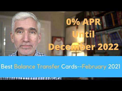 Best Balance Transfer Credit Cards (January 2021)