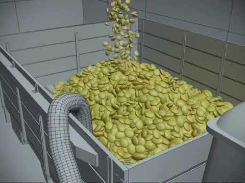Оборудование для хранения зерновых масс с активным вентилированием