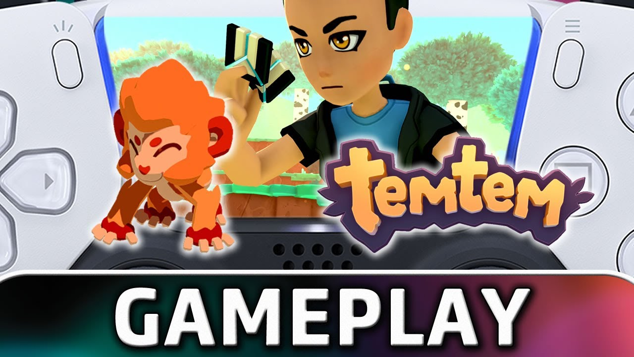Temtem | PS5 4K Gameplay