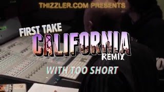 "First Take: Too Short in the studio for Colonel Loud's ""California"" Remix 