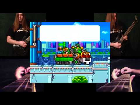 Megaman 7 - Intro Stage / Ruined Street (Cover)