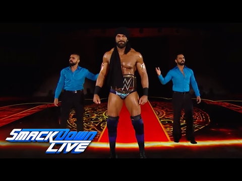 Download WWE Champion Jinder Mahal's jaw-dropping entrance: SmackDown LIVE, June 6, 2017 HD Mp4 3GP Video and MP3