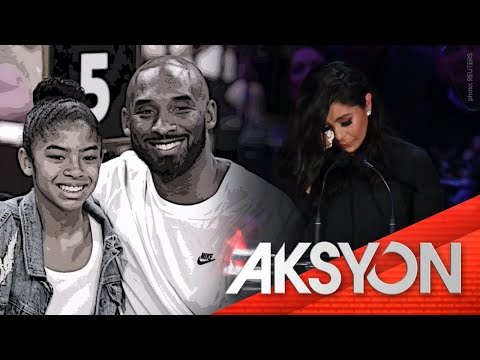 [News5]  2/24: Public memorial para kina Kobe Bryant at Gianna