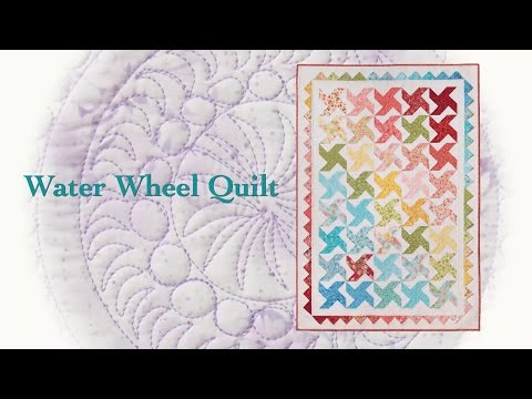 """Block Party March """"Water Wheel Quilt"""""""