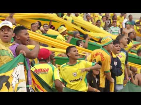 """""""Rebelión Auriverde Norte . Aguante Real"""" Barra: Rebelión Auriverde Norte • Club: Real Cartagena"""
