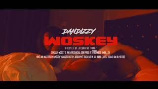 DANDIZZY- WOSKEY video VISUALIZER shot by Joegraphy