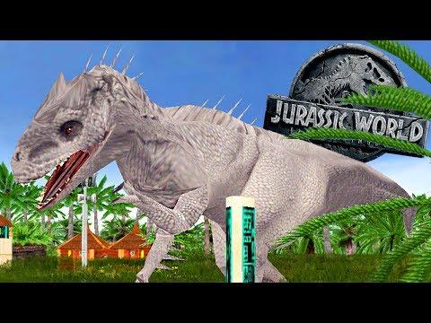 Jurassic World 2 Game  - Indominus Rex e Indoraptor, Parque Em Perigo! | (#1) (PT-BR)