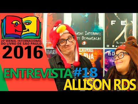Bienal do Livro 2016 | Entrevista com o autor Allison RdS