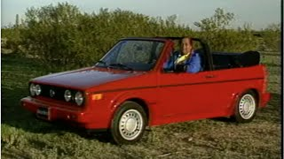 MotorWeek | Retro Review: '89 Volkswagen Cabriolet