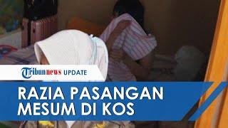 Razia Kamar Kos di Mojokerto, Satpol PP Pergoki Pasangan Mesum Bukan Suami Istri
