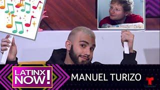 Manuel Turizo Reveals Dream Collab & Teases New Music  Latinx Now!  Telemundo English