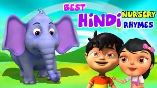Best Hindi Nursery Rhymes Collection | Best Rhymes Collections | Famous Rhymes | Kids Channel India