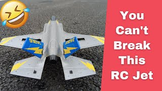 KFRC Mini RC F35 6 axis Gyro Ultra Durable RC Pusher Jet