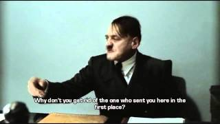 Hitler is informed by Agent 47