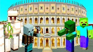Секреты игры Майнкрафт - Minecraft Мобы – гладиаторы Колизея!