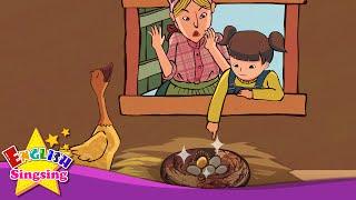 Các Goose với những quả trứng vàng - câu chuyện tiếng Anh cho trẻ em