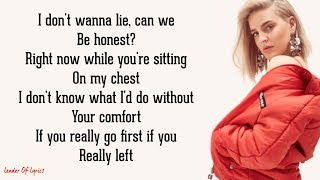 David Guetta feat. Anne-Marie - DON'T LEAVE ME ALONE (Lyrics)