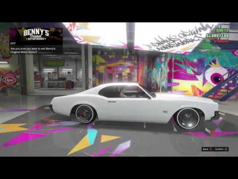 GTA Online: Fully Upgraded SABRE TURBO Customisation