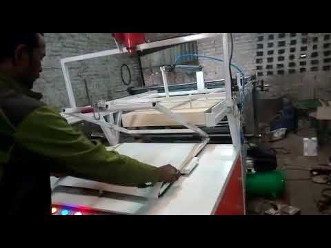 Automatic Thermocol Dona Making Machine