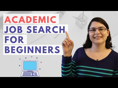 How to Search for a College Teaching Job   My Academic Job Search Approach