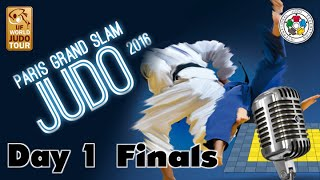 Judo Grand-Slam Paris 2016: Day 1 - Final Block