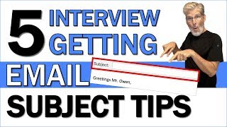 Email Subject for Sending Resume | 5 Interview Getting Email Subject Tips