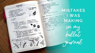 What I Was Doing Wrong In My Bullet Journal
