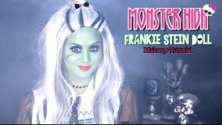 Monster High Frankie Stein Makeup Tutorial l Christen Dominique
