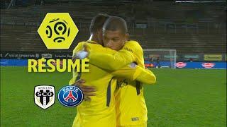 Angers SCO - Paris Saint-Germain (0-5)  - Résumé - (SCO - PARIS) / 2017-18