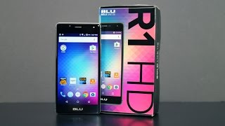 $50 Smartphone Review BLU R1 HD By Amazon