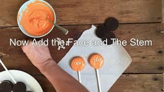 How To Make Halloween Oreo Pumpkin Pops