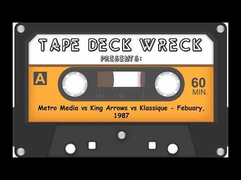 Metro Media vs King Arrows vs Klassique – Febuary1987