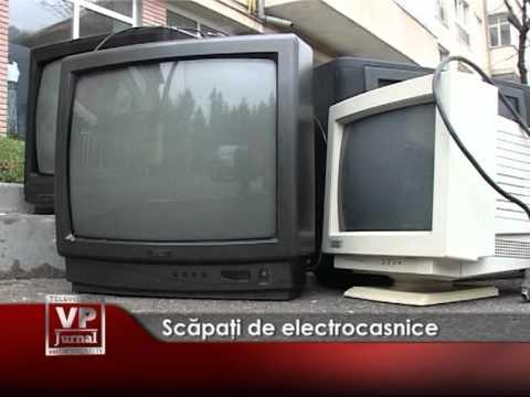 Scăpaţi de electrocasnice