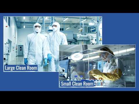 Video thumbnail for Cleanroom Air Conditioning HVAC Systems