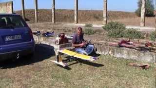 preview picture of video 'RC repülős nap, 2012. szeptember 8.'