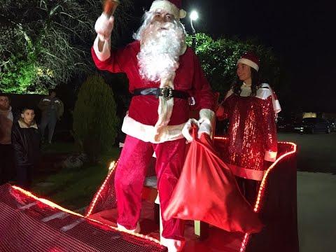 Arribada del Pare Noel a La Torre de Claramunt 2015