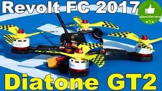 ✔ Сборка Квадрокоптера Hi-End - Diatone GT2 на Revolt FC! Лето 2017, 330$!