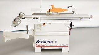 HOLZKRAFT – SC 2 classic Kleinformatkreissäge