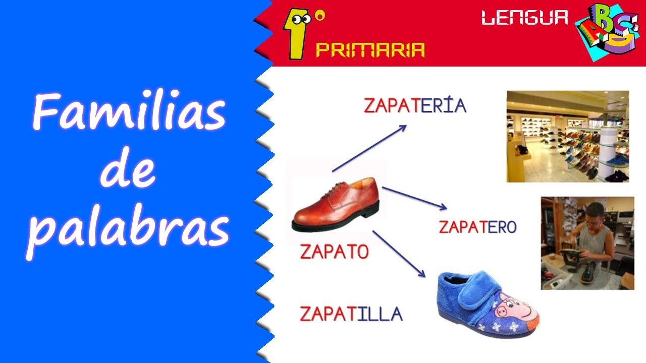 Lengua Castellana. 1º Primaria. Tema 12: Familia de palabras
